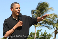 Barack Obama in Hawaii
