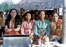 In Lombok, as elsewhere, Ann Dunham focused on opportunities for women.