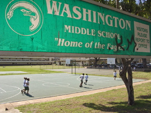 Washington Middle School Playground